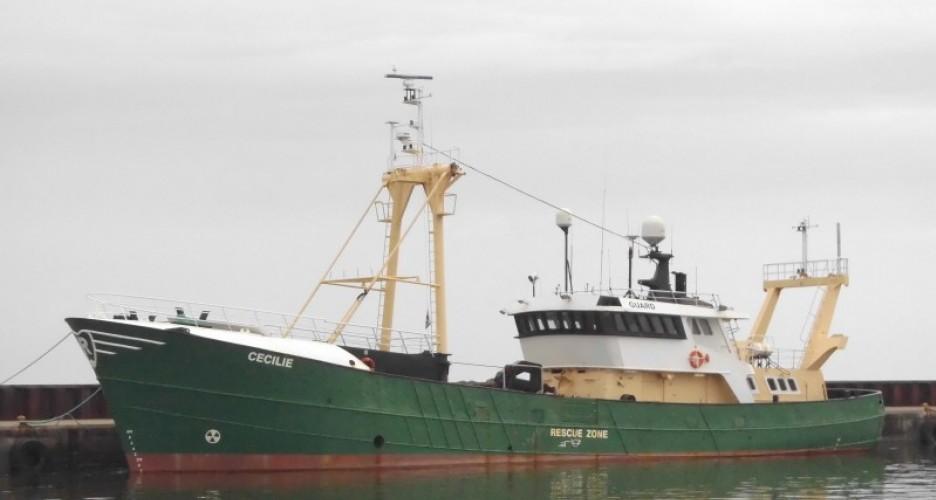Offshore uitgekeken op viskotters
