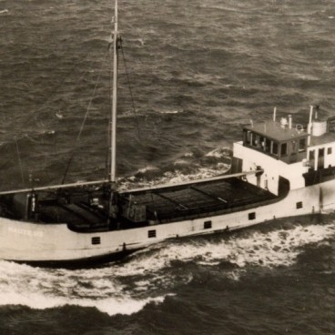 'From Sweden with timber...'