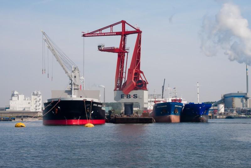 Schuttevaer stuwadoors staan voor coal rush vervoermarkt for Ebs rotterdam