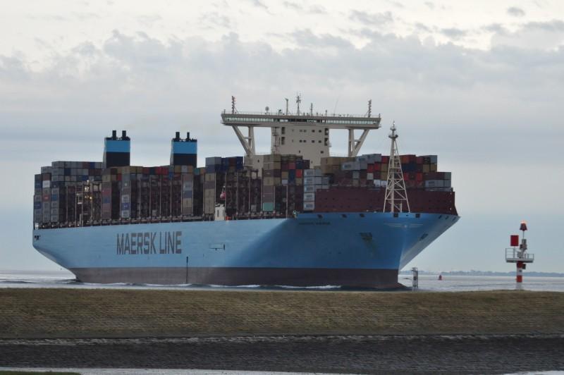 Schuttevaer - Aanloop Madrid Maersk breekt nieuw Antwerps