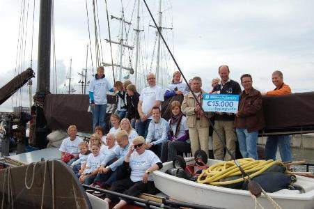Heerema schenkt 15.000 euro aan Sailing Kids