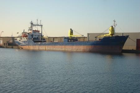 Probleemschip Alkor klaar voor vertrek