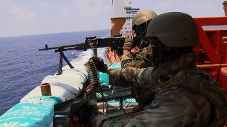 Marine zet 100e beveiligingsteam in tegen piraten