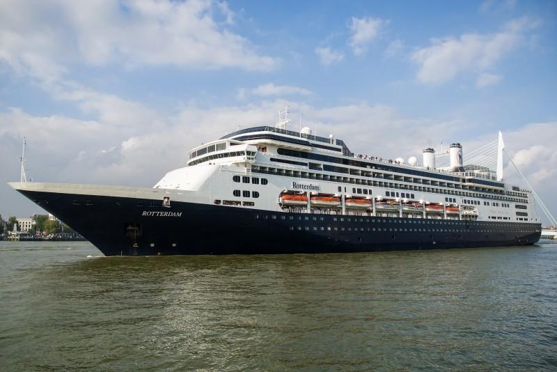 Schuttevaer – 100ste aankomst van ms Rotterdam