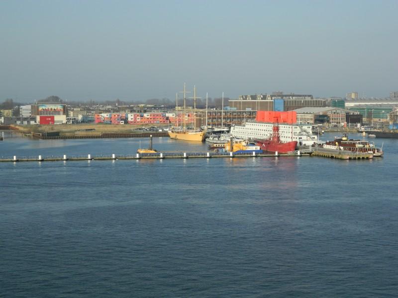 Charterhaven in NDSM-gebied