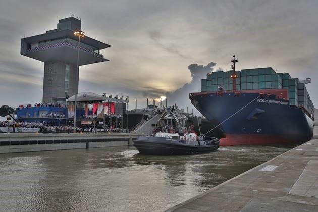 Nieuw Panamakanaal open