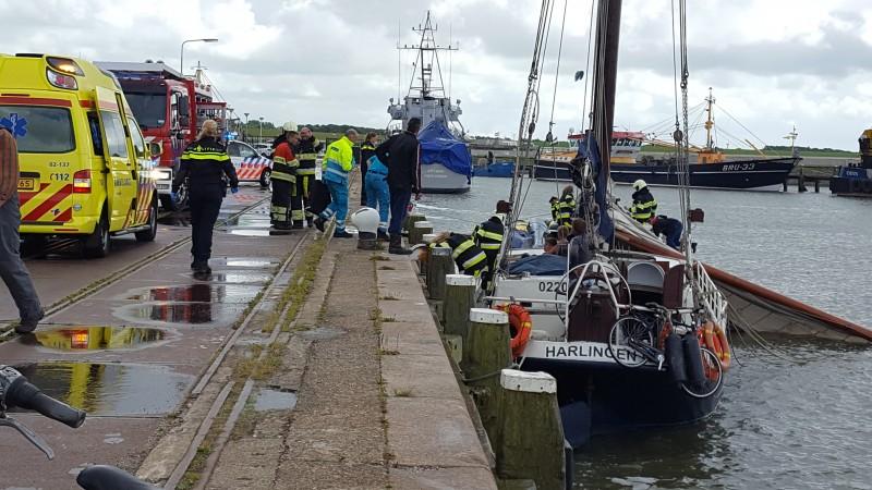 Drie doden door afgebroken mast
