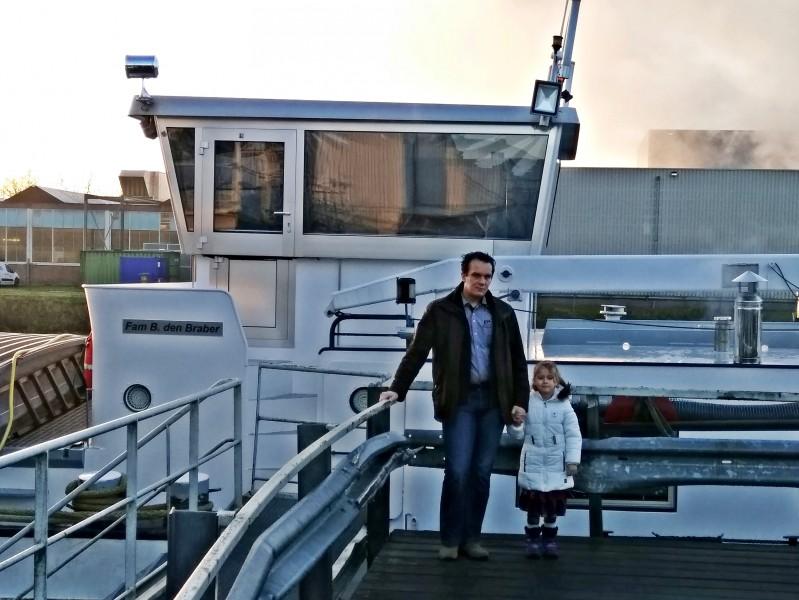Opgesloten in haven Cuijk