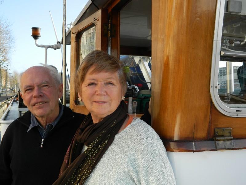 Gepensioneerd schipperspaar op jongste spits van de vloot
