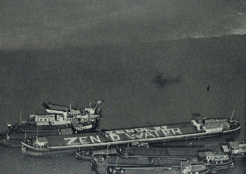 Tankvaart komt in actie na Watersnoodramp 1953