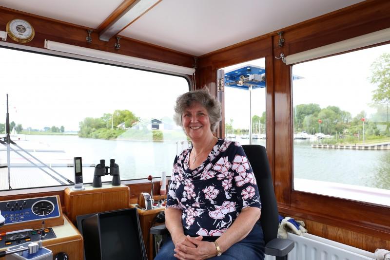 Leni Mudde gaf beroep op voor haar schipper