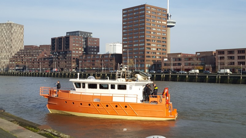 STC Rotterdam krijgt drugsboot van Openbaar Ministerie