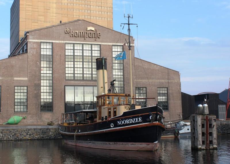Eindelijk nieuwe ketel voor stoomsleper Noordzee