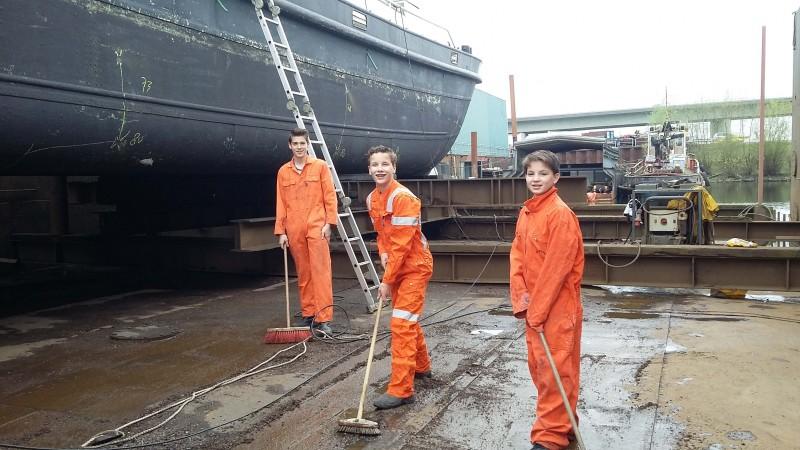 Zeekadetten kweekvijver voor nautische beroepen