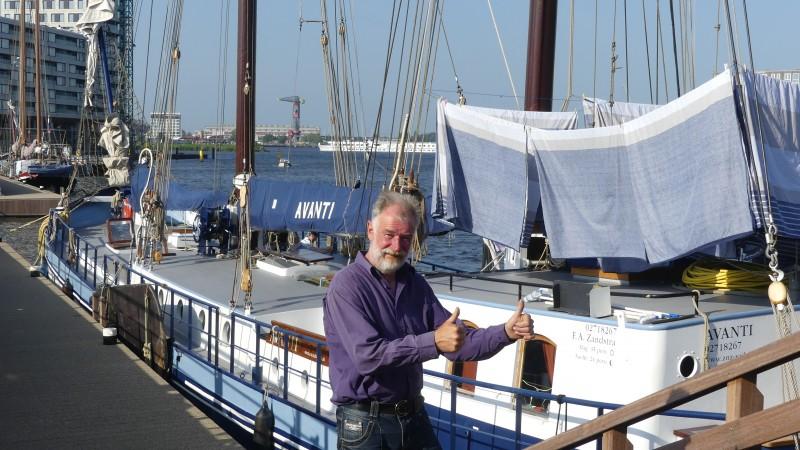 Chartervaartondernemer na bouwkundecarrière
