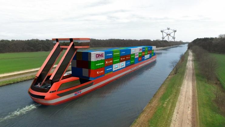 Opnieuw EU-miljoenen voor Port Liner-project