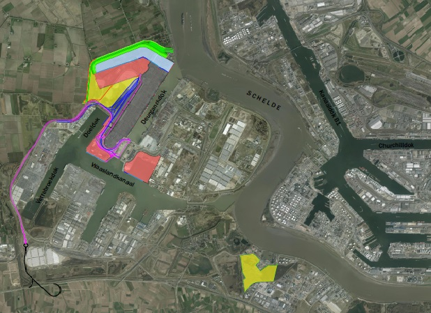 Antwerpse haven krijgt 'Saeftinghedok light'