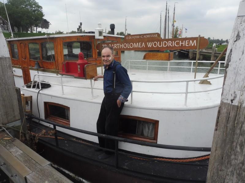 Doodzieke schipper vreest voor plek in Woudrichem