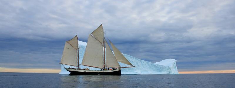 Zeillogger Tecla heeft arctische wateren als specialiteit