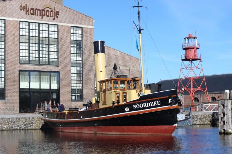 Stoomsleepboot Noordzee pronkstuk Museumhaven