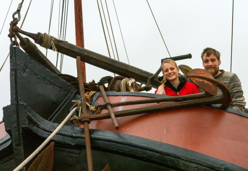 Jonge schipper dient zich aan voor Vrouwe Tjitsche