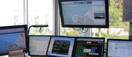 Royal Dirkzwager heeft een 24/7 control room in Maassluis, die ook voor de nieuwe eigenaar Ahrma gaat werken. (Foto Dirkzwager)