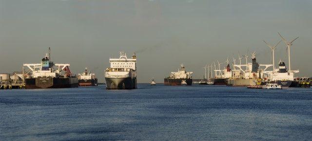 Toegestane diepgang schepen Calandkanaal mogelijk vergroot. Foto Havenbedrijf Rotterdam