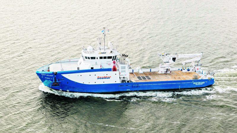 De Deep Helder van SeaMar gaat opnieuw voor MMT aan de slag. (Foto: SeaMar)