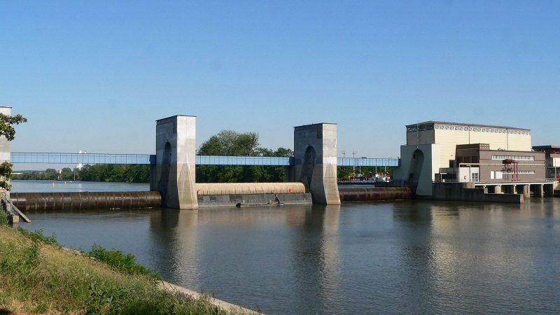 De sluis bij Griesheim (Foto CC)