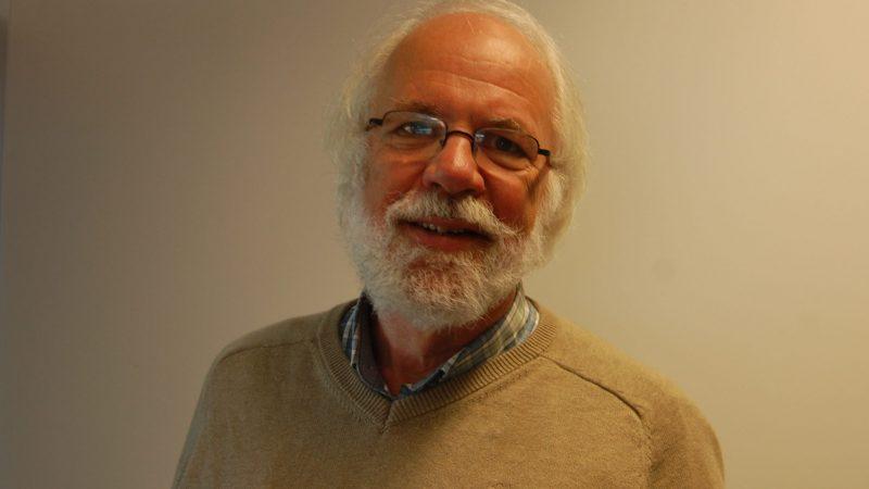 Scheidend hoofdredacteur Dirk van der Meulen. (Foto Marja de Vet)