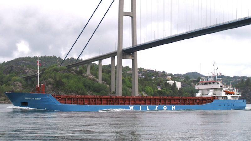 Schip van Wilson ASA (foto Wilson ASA)