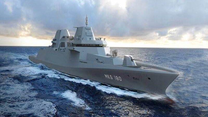 De vier 155 meter lange schepen worden gebouwd op de Blohm + Voss-werf in Hamburg en op andere locaties van de Lürssen-groep.