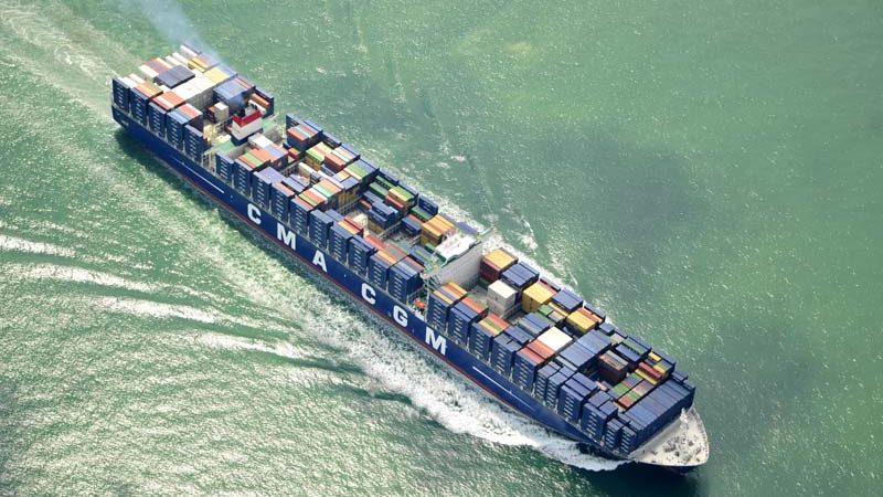 De Franse regering staat garant voor een gigantische lening aan CMA CGM. (Foto CMA CGM)