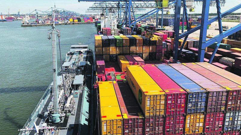 Containerterminal (foto Port of Rotterdam)