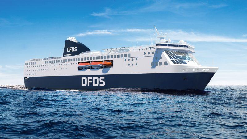 Een ferry van de rederij DFDS (foto DFDS)