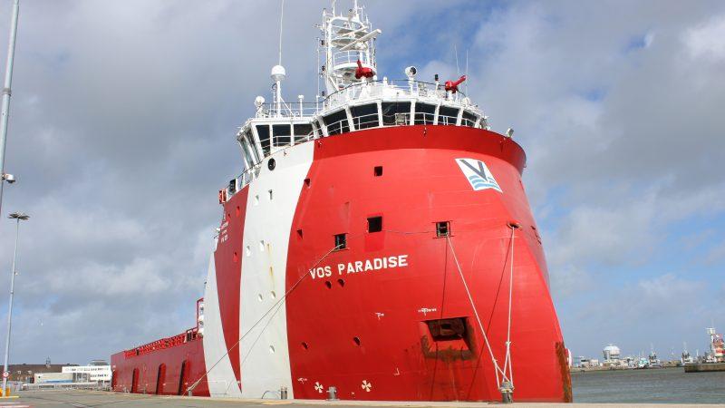 De VOS Paradise is een bevoorrader van het PX121 ontwerp. (Foto: PAS Publicaties)