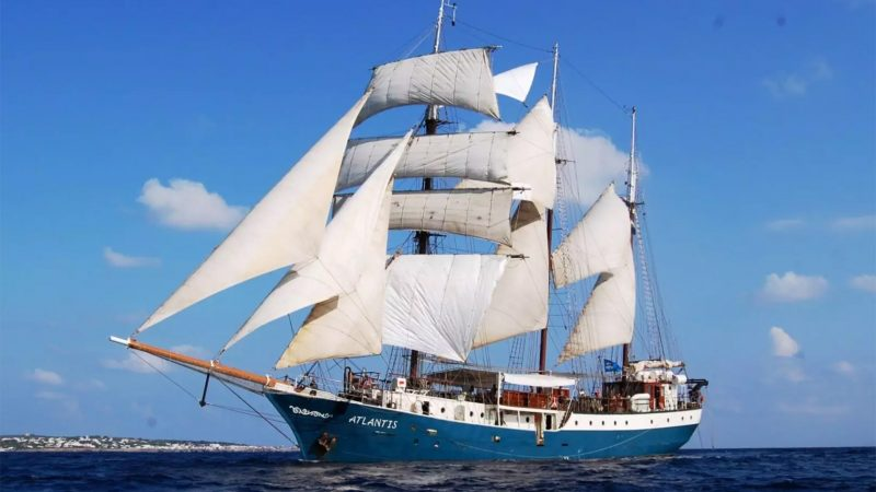 Het schip Atlantis