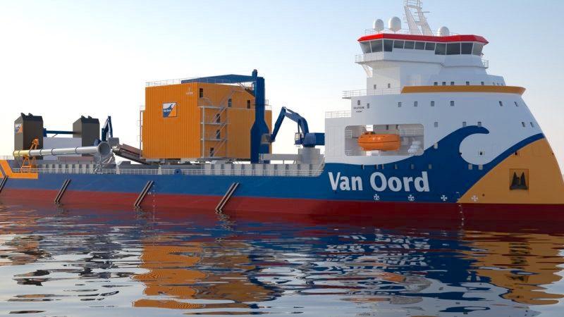 Ontslagen bij maritiem aannemer Van Oord (foto Van Oord)