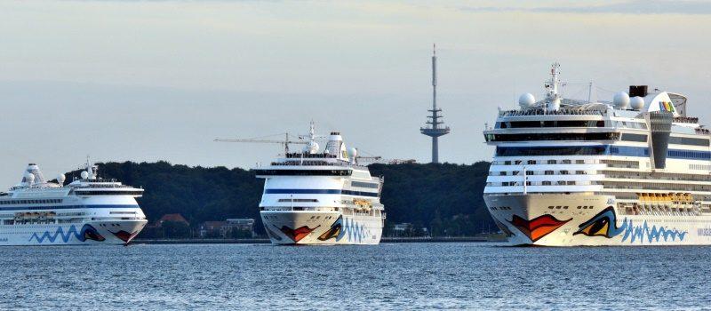 Vloot van Aida Cruises (foto Aida)