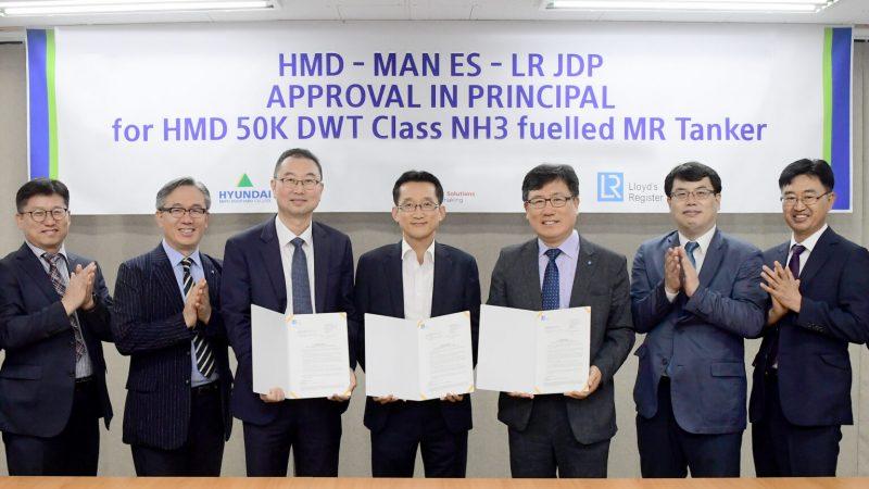 Het plan werd goedgekeurd door Lloyds Register. (Foto Hyundai Mipo Dockyard)