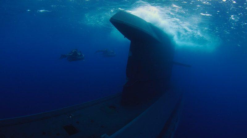 De onderzeeboot Zr. Ms Dolfijn. (Foto: Defensie)