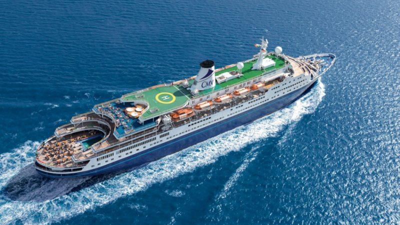 De Marco Polo uit 1965 van Cruise & Maritime Voyages. (Foto: Cruise & Maritime Voyages)