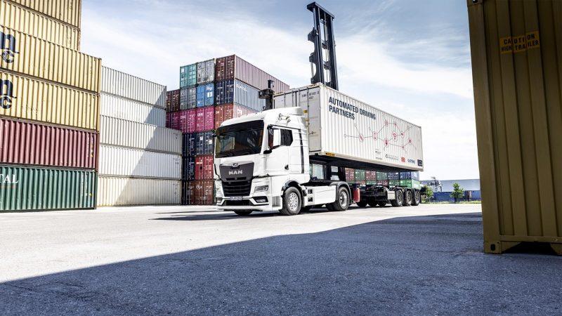 MAN ontwikkelt voor het project ANITA een volledig geautomatiseerde truck. (Foto MAN Truck & Bus).