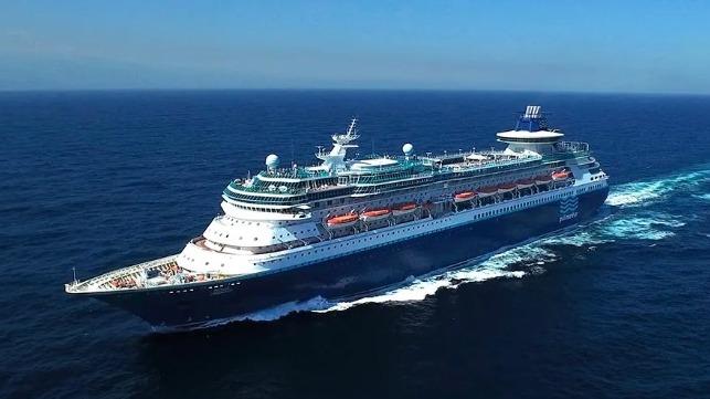 De Monarch was ooit het grootste cruiseschip van de wereld. (Foto Pullmantur)