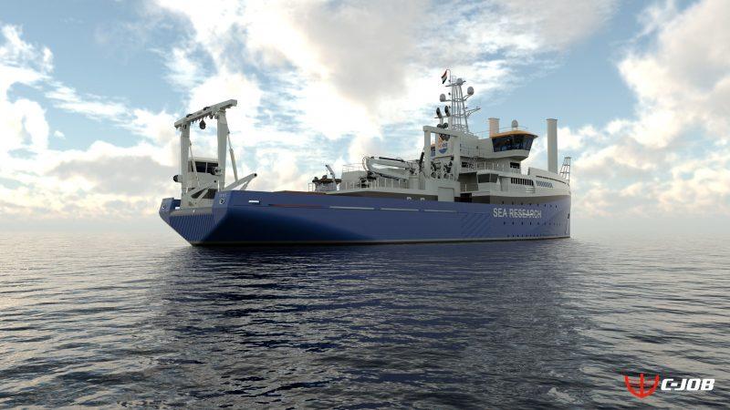 Het onderzoeksschip Pelagia. (Foto NIOZ)