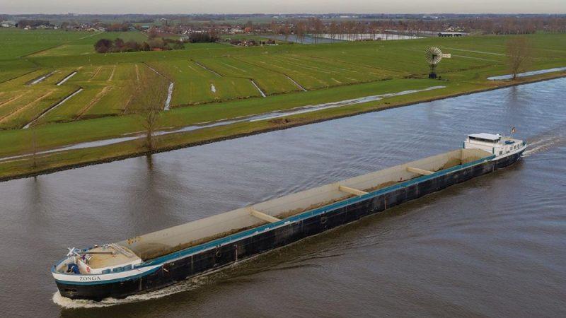 Het Zonga-project in de Schelde. (Foto DEME).