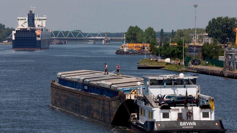 North Sea Port en Port of Antwerp ondersteunen digitalisatie binnenvaart. (Foto North Sea Port)