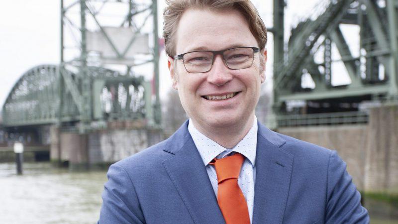 Maurits van der Linde van PZI. (Foto Erik van Huizen)