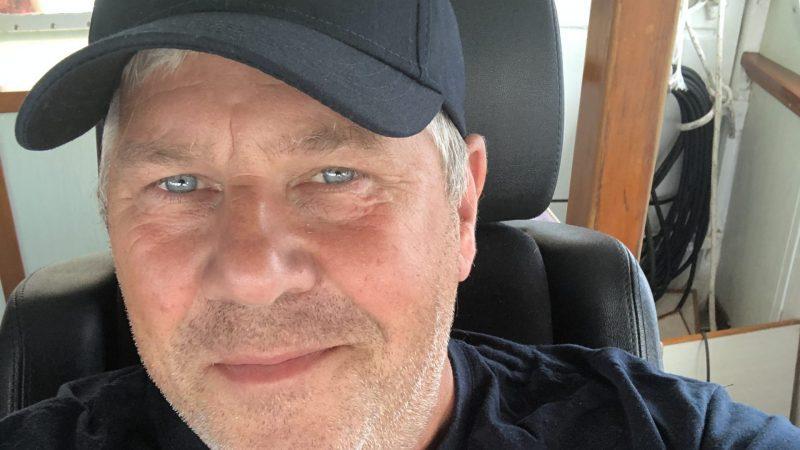Dirk Kraak, voorman van EMK en bezorgd visserman. (Privéfoto)