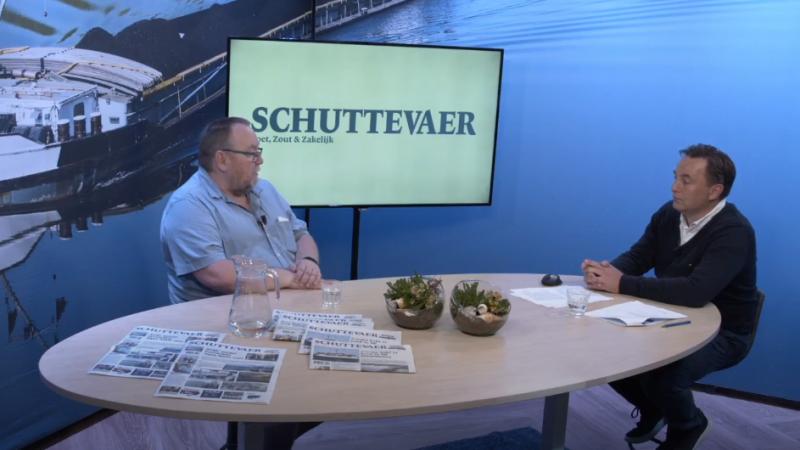 Henk Schipper op bezoek bij Studio Schuttevaer.